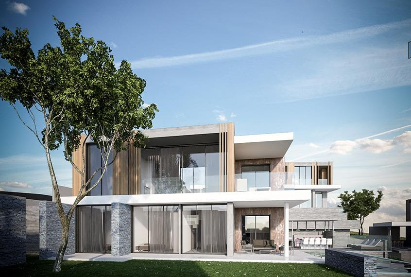 Modern 4 Bedroom Villa for sale in Limassol's Aurai Residences