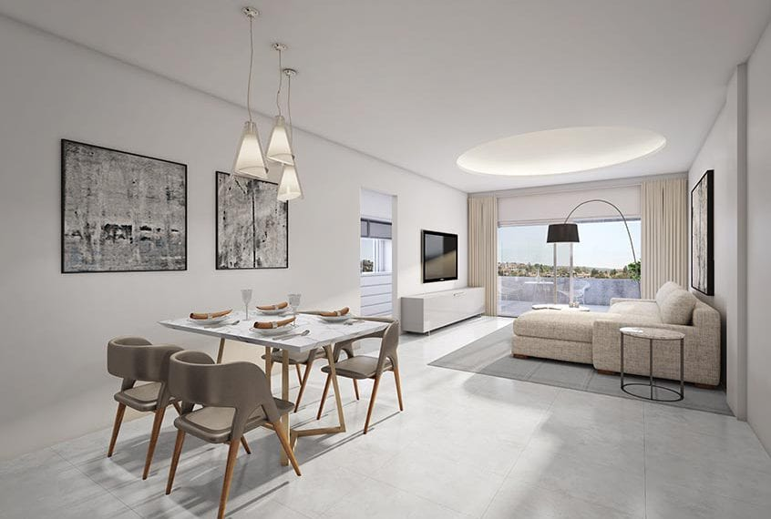 Stylish 1 Bedroom Apartment for sale in Paphos' Domus Project