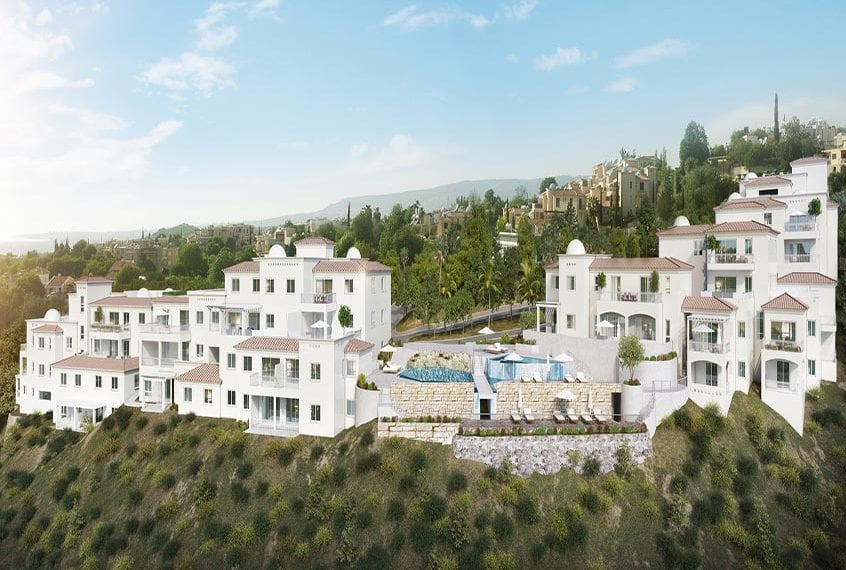 Stylish 2 Bedroom Apartment for sale in Paphos' Domus Project