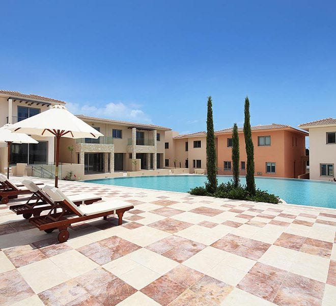 Modern 2 Bedroom Apartment for sale in Paphos' Oasis Park
