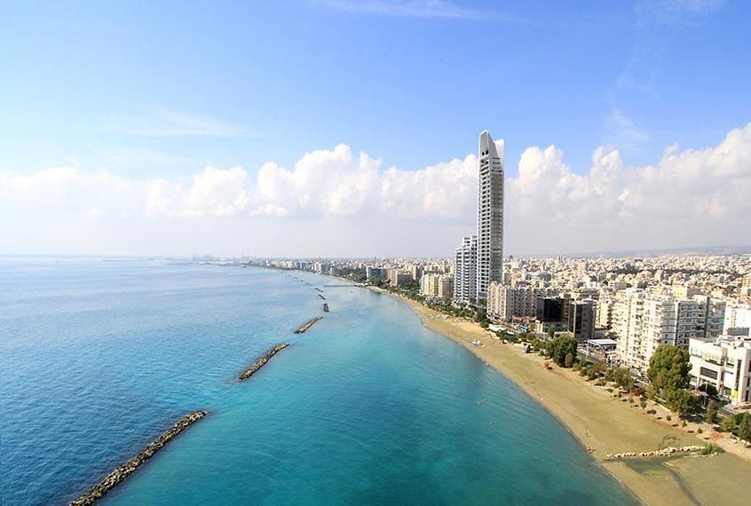 2 Bedroom Seafront Residential Apartment For Sale in Limassol