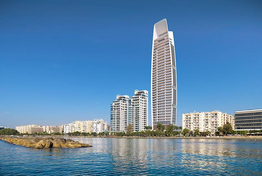 4 Bedroom Seafront Duplex Apartment For Sale in Limassol