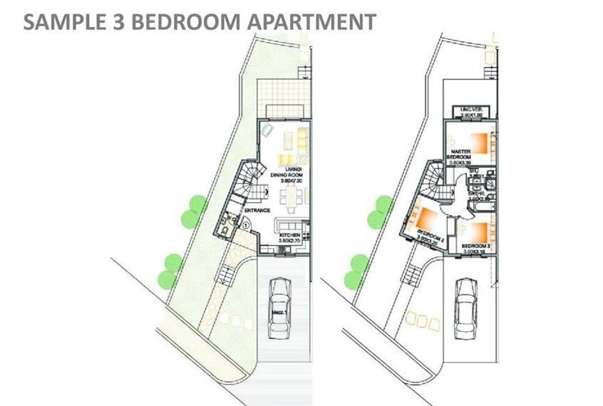 3 Bedroom Apartment for Sale in Paphos' Prodromi Gardens
