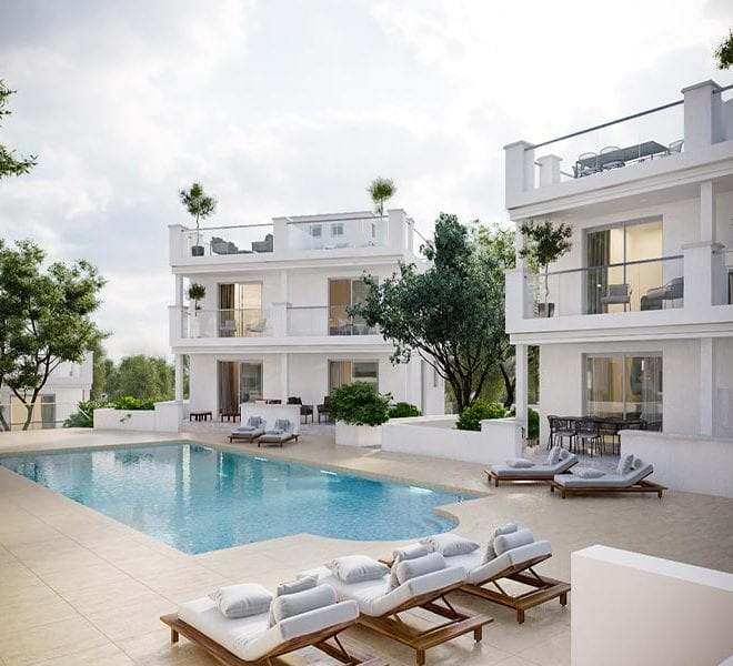 2 Bedroom Townhouse for sale in Limassol 'sVista Residence