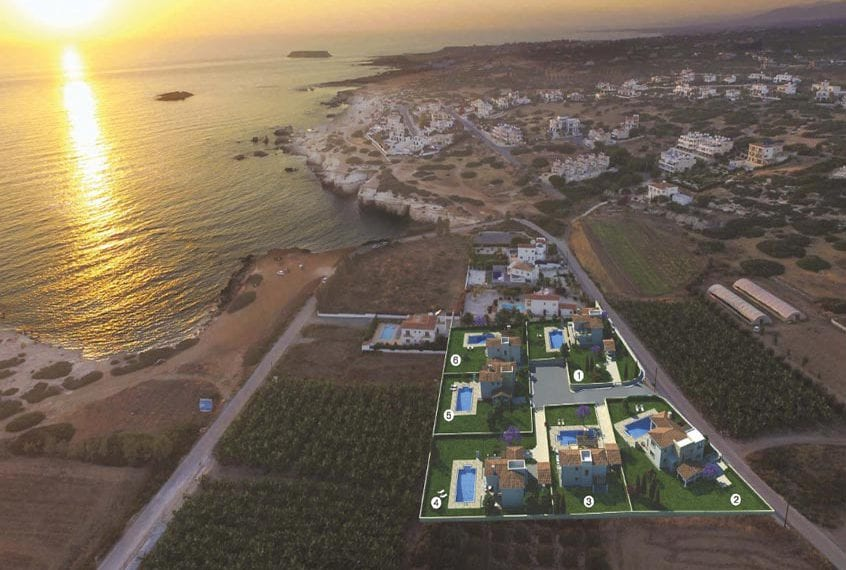 4 Bedroom Villa for sale in Paphos' Seacaves Residences, Type-1