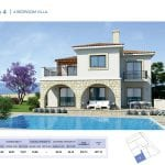 4 Bedroom Villa for sale in Paphos' Seacaves Residences, Type-4