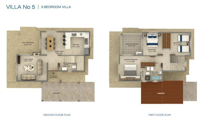 3 Bedroom Villa for sale in Paphos' Seacaves Residences, Type-5
