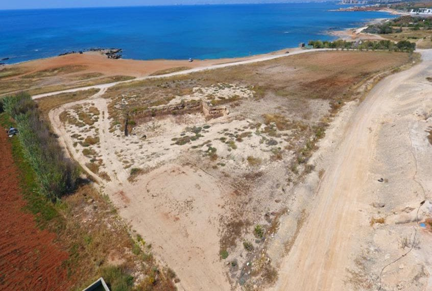 9,996m² of beachfront Land for Sale in Larnaca