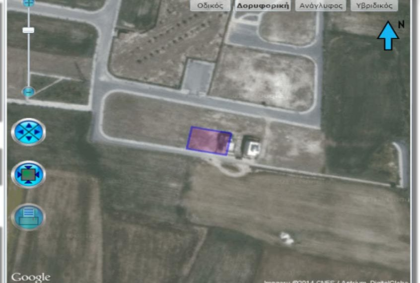 531m² plot of Land for Sale in Larnaca, in Pyla