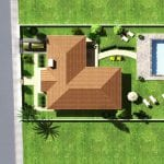 Modern three bedroom Bungalow for sale in Larnaca, Pyla