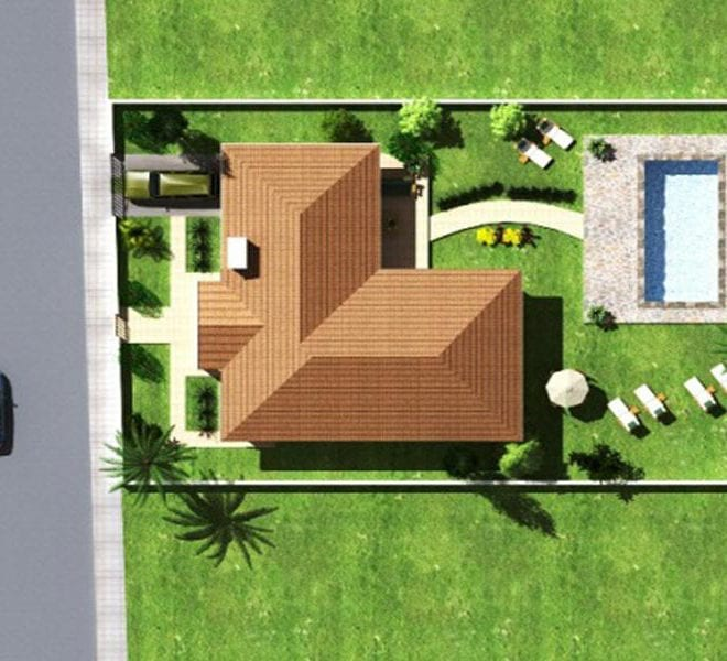 Modern three bedroomBungalow for sale in Larnaca, Pyla