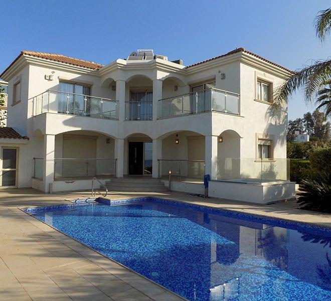 Luxury villa on Kissonerga coast line
