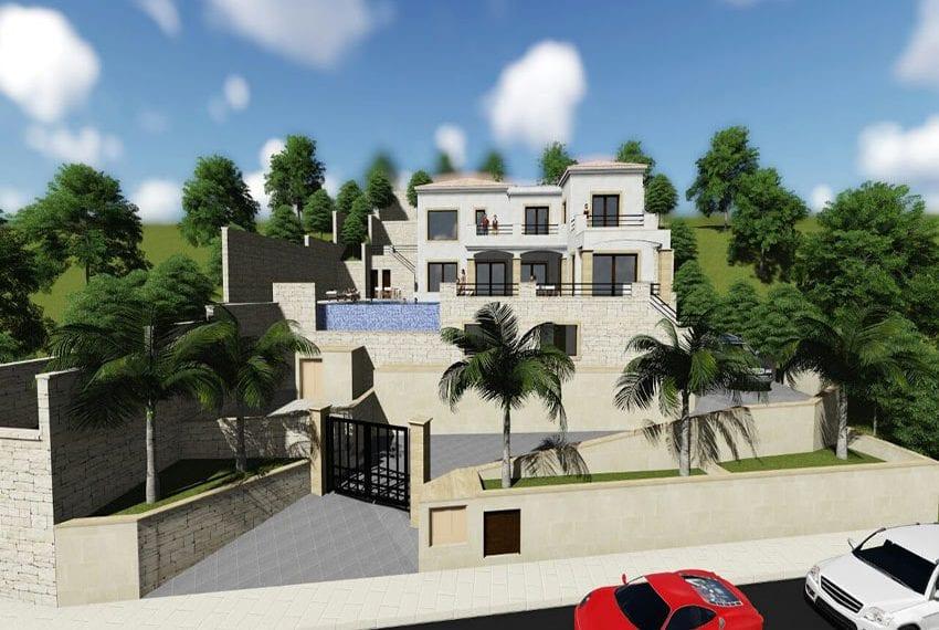 Unique luxury 6 bedroom villa for sale Peyia