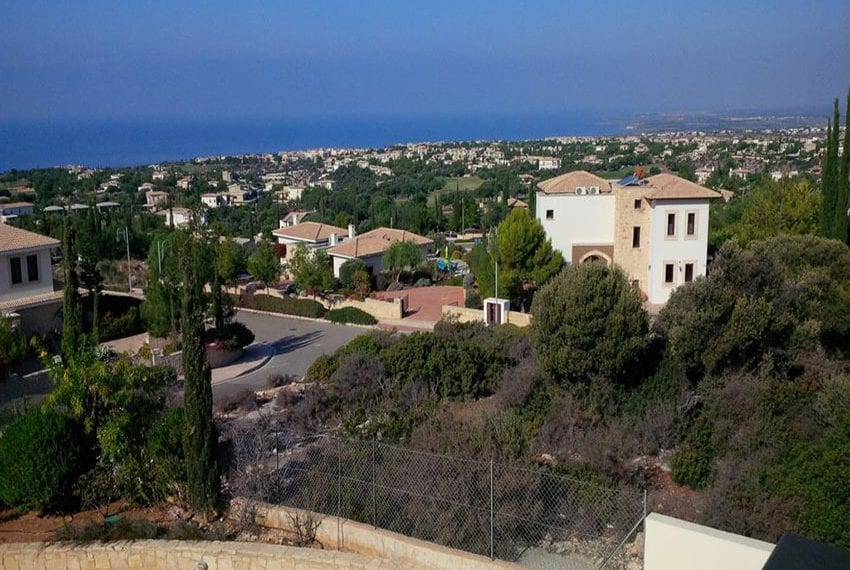 Large spacious luxury villa at Aphrodite Hills with spectacular views