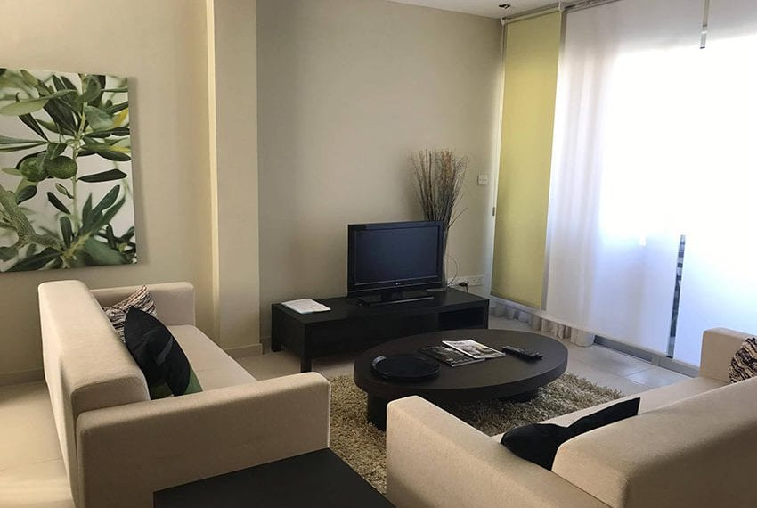 For sale 1 bedroom apartment in Limassol tourist area