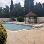 Second line to the beach villa for sale in Cora Bay, Paphos