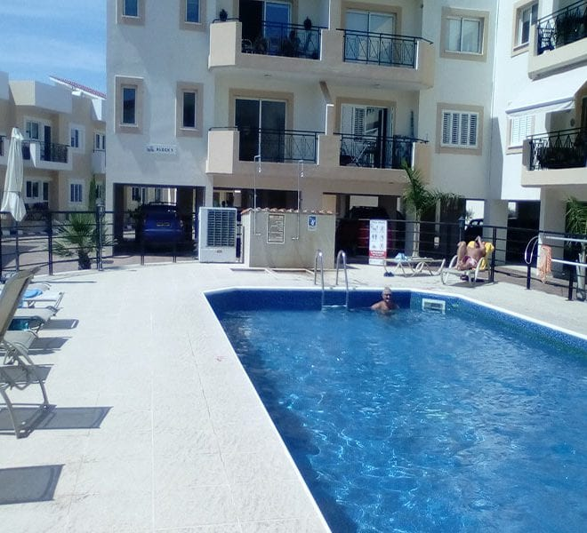2 bedroom top floor apartment for sale in Polis