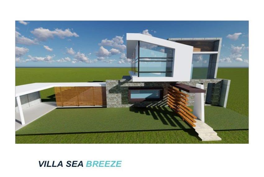 Luxury villa sea brease for sale in St Gerorge, Peyia