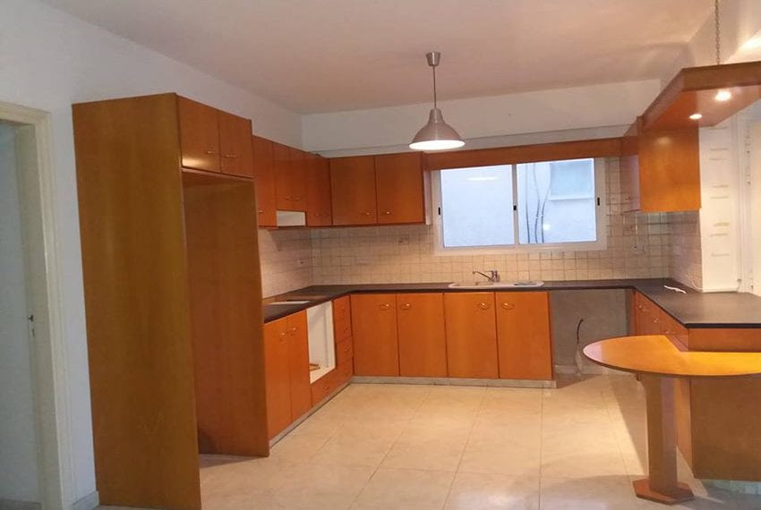 For sale unfurnished 2 bedroom apartment in Paphos