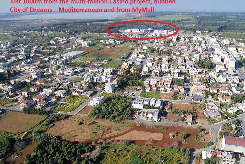 Land for sale near new casino in Limassol