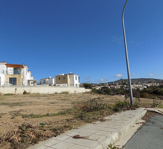 Plots for sale near general hospital Paphos