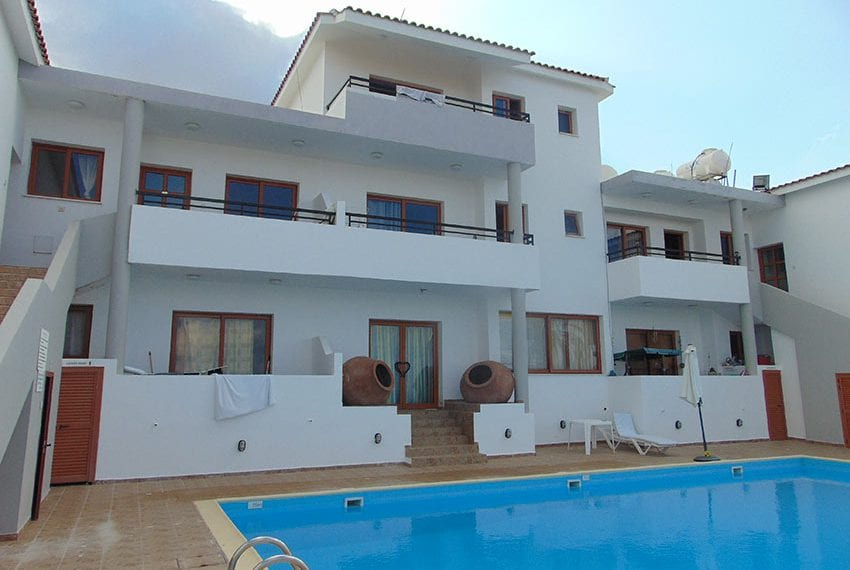 Residential building for sale with land in Kissonerga, Paphos