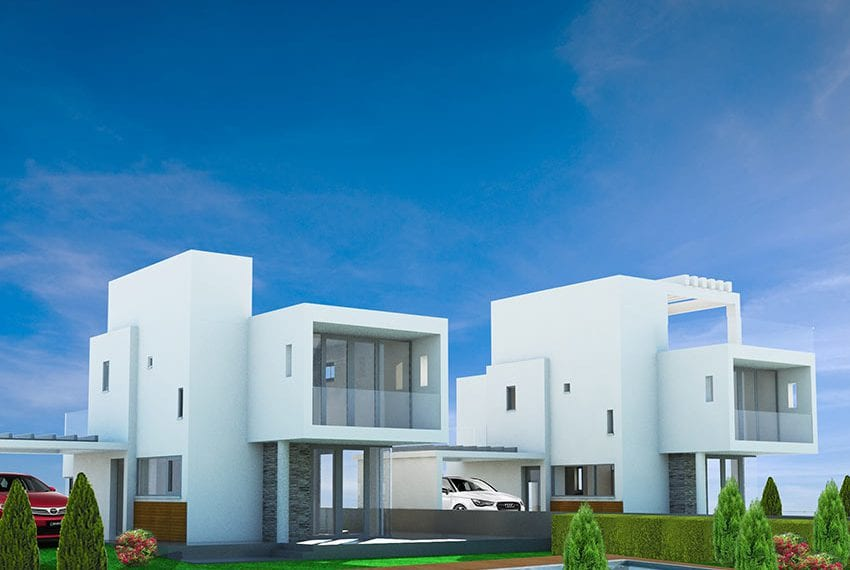 Modern detached house for sale close to beach in Larnaka01