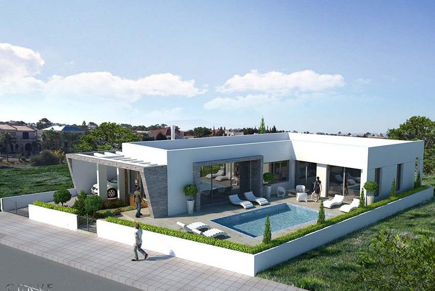 3 bedroom detached bungalow for sale Larnaca