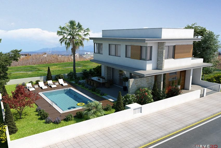 Detached villa for sale close to beach Larnaka05
