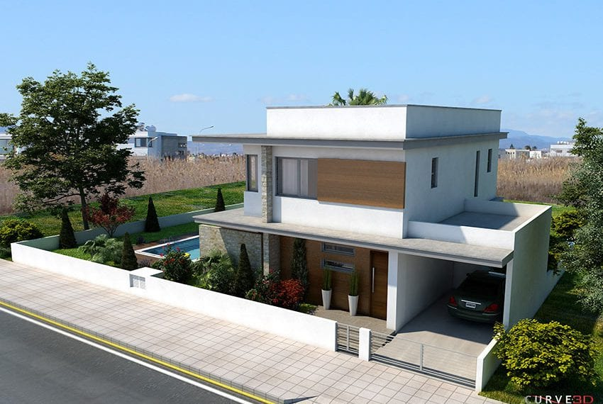 Detached villa for sale close to beach Larnaka08