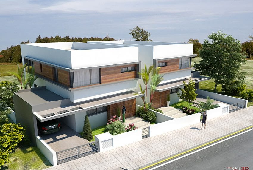 Modern house for sale in Larnaka, guaranteed title deeds11