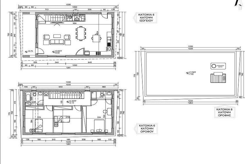 Modern 3 bedroom houses for sale in Fasoula, Limassol