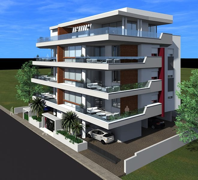 Brand new 2 bedroom apartment in Neapolis, Limassol