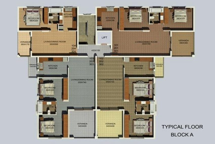 Block of 12 flats for sale in Limassol