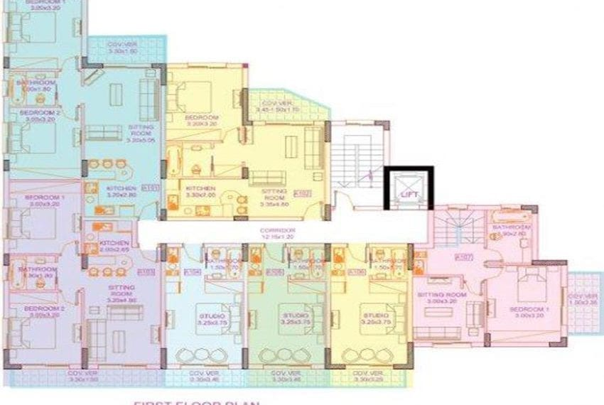 block of apartments for sale near Limassol47