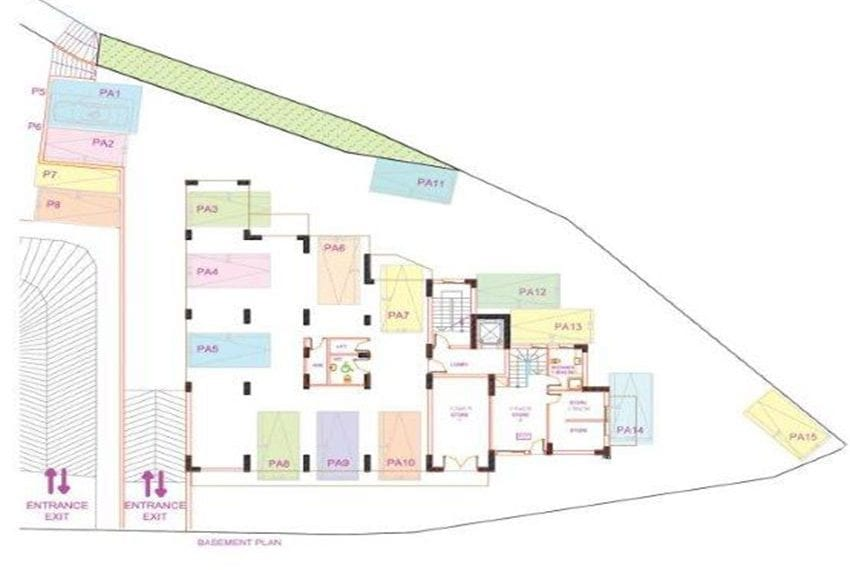 block of apartments for sale near Limassol48