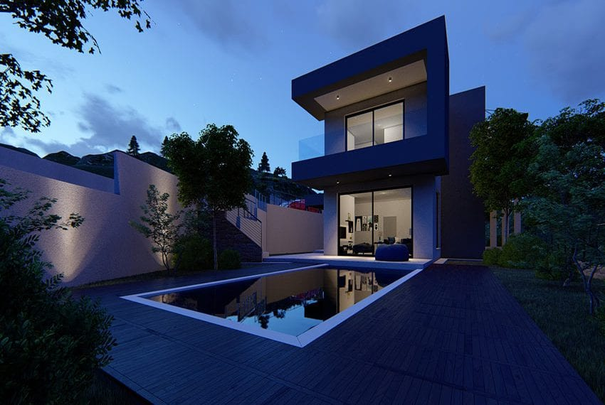Villas for sale with panoramic sea views Tala, Paphos