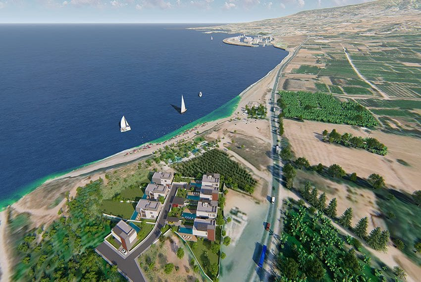 Waterfront luxury villas for sale in Cyprus
