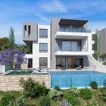 Villas for sale with panoramic sea views Tala, Paphos
