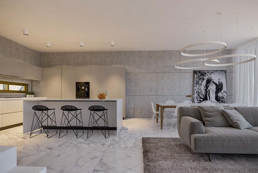 Luxury 4 bed top end villa fro sale Kato Paphos