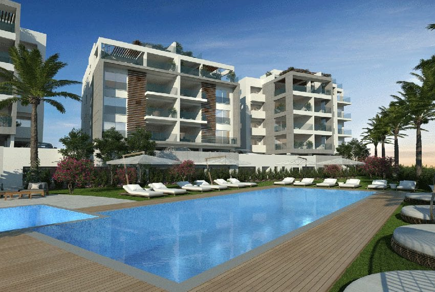 Unique residential apartments for sale in Limassol