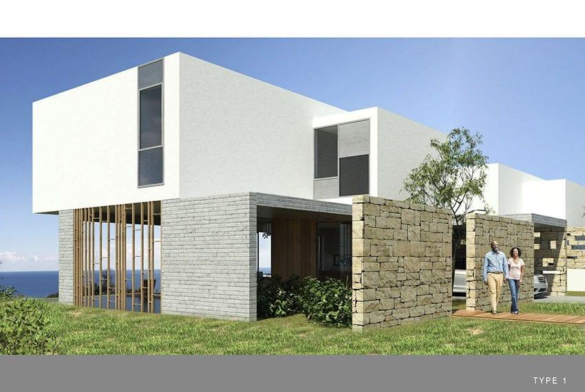 Luxury villas with fantastic sea views Peyia, Cyprus