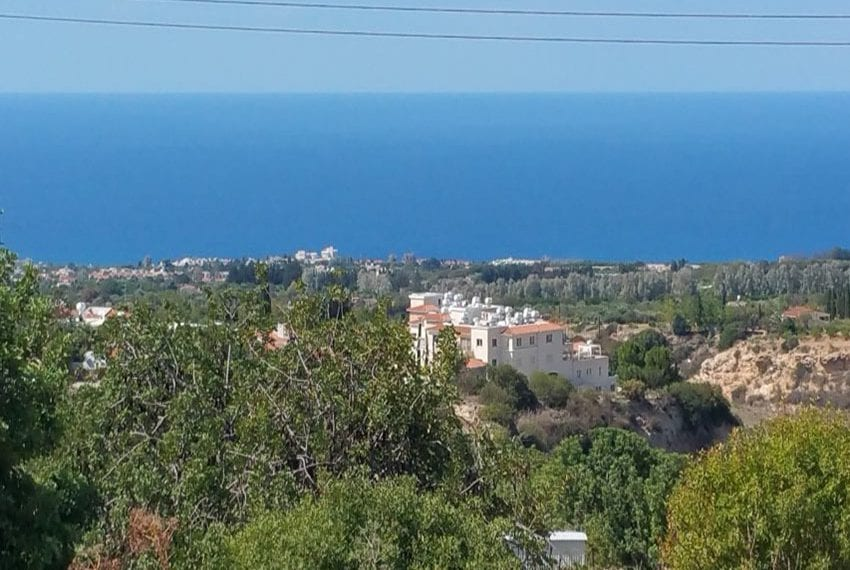 Large residential plot ready for development Tala, Paphos
