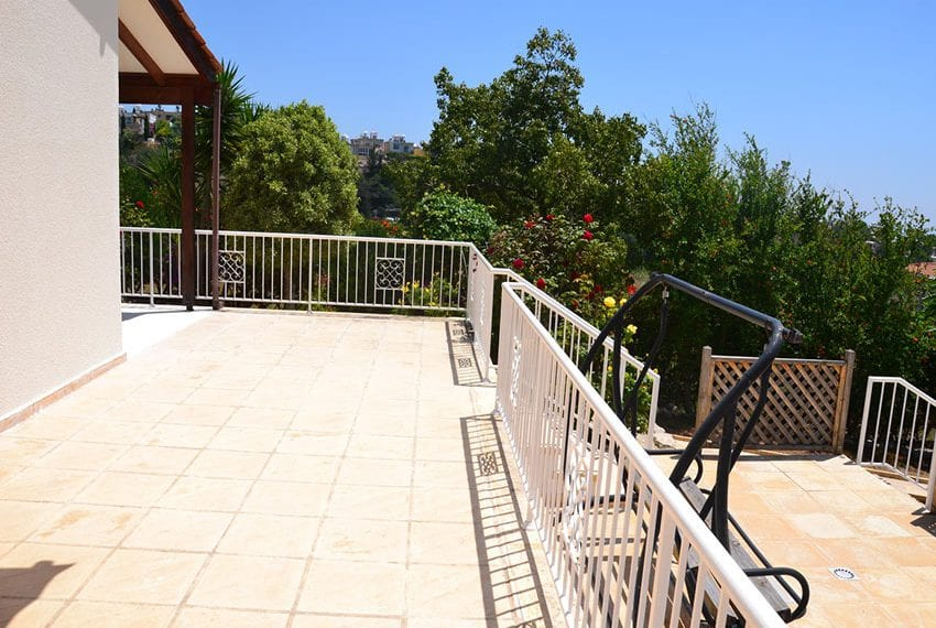 Split level villa for sale with private pool Tala, Paphosvate pool in Tala42
