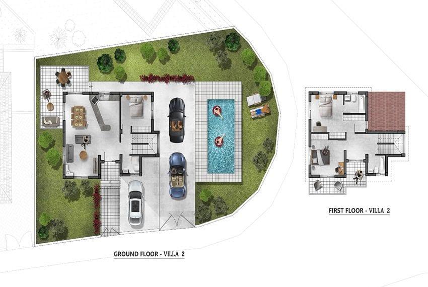 Villas for sale in modern residential complex Pyrgos, Limassol in modern residential complex Pyrgos Limassol20