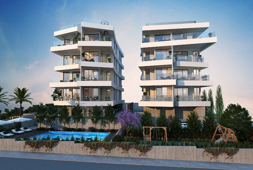 Modern luxury apartment for sale in Cyprus