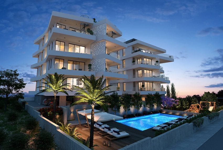 Luxury 3 bedroom apartments for sale in Cyprus