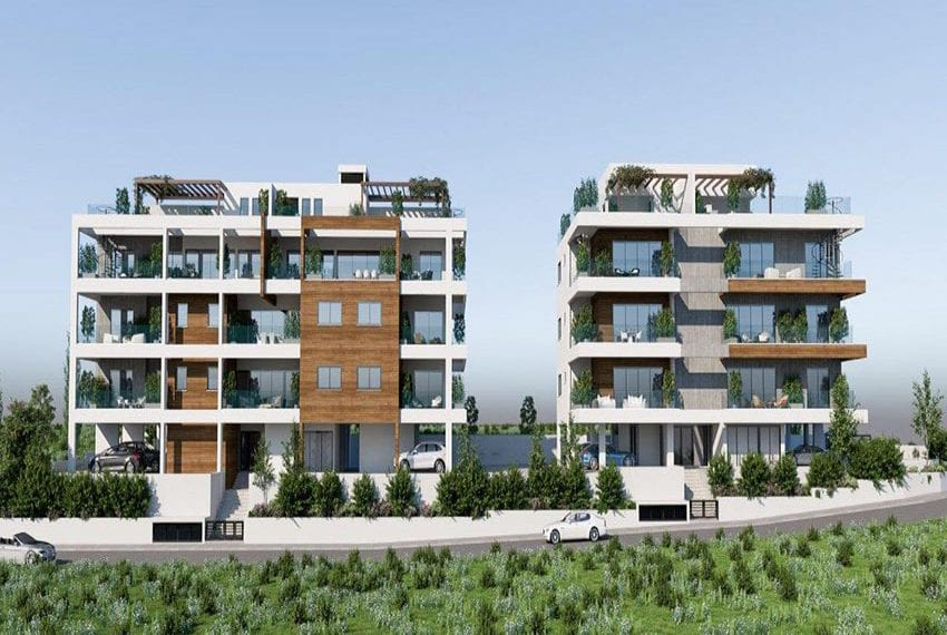 Elite residential apartments for sale in Limassol