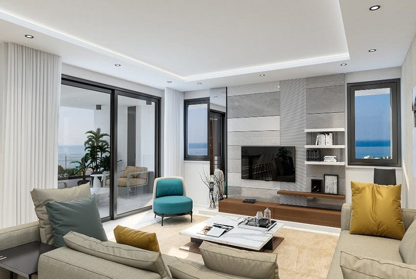 Limassol tower apartments for sale