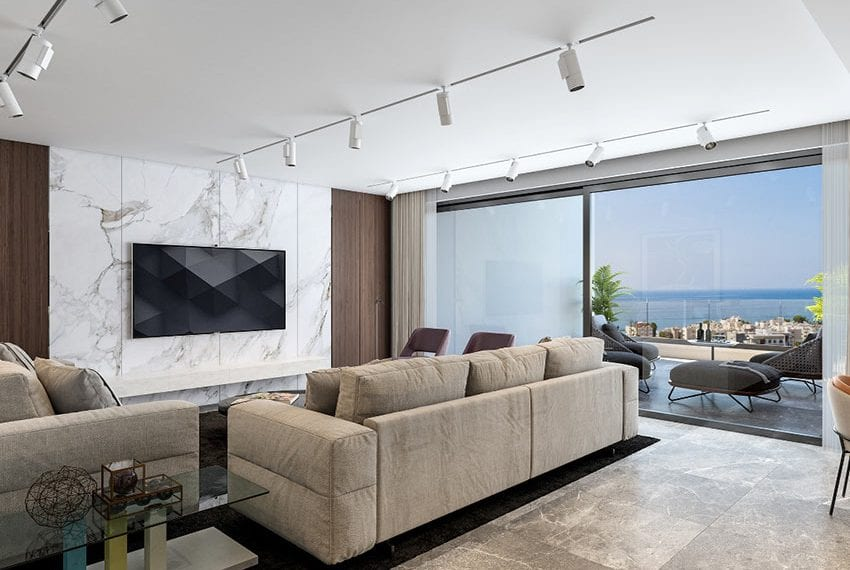 City tower luxury apartments for sale in Limassol